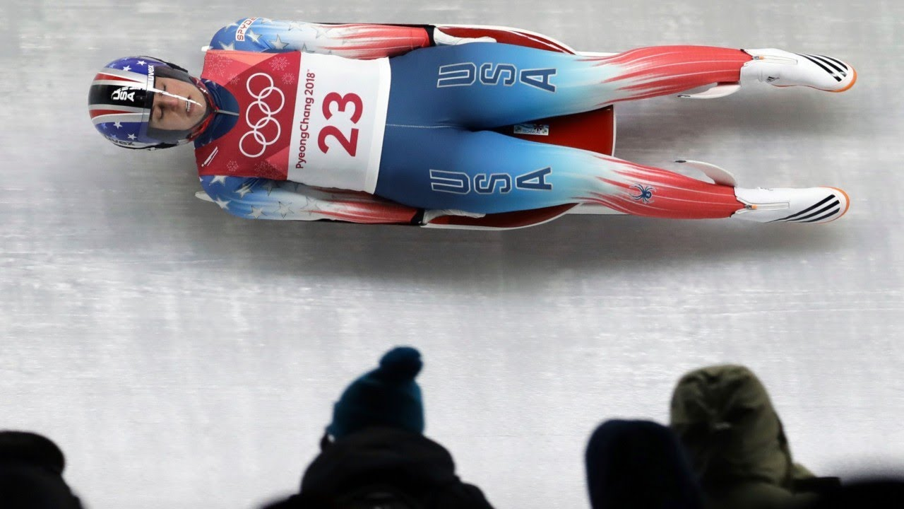 American luger Emily Sweeney crashes out of Olympics