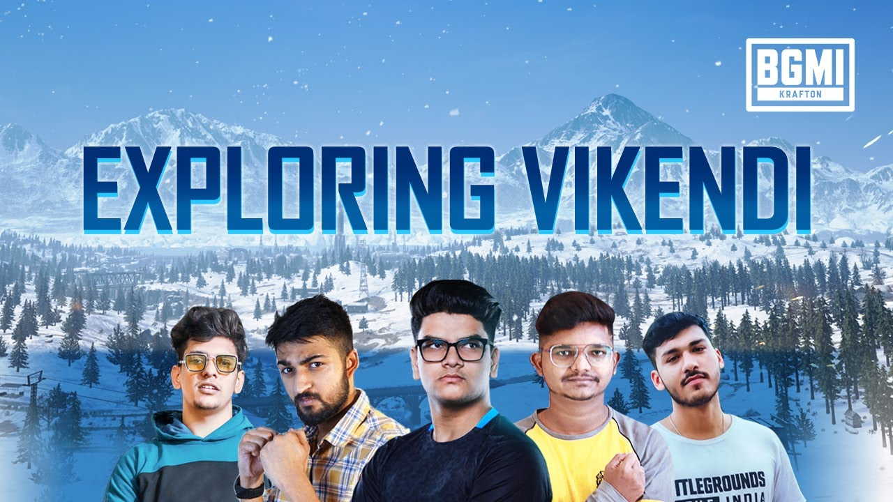 Exploring Vikendi | BATTLEGROUNDS MOBILE INDIA