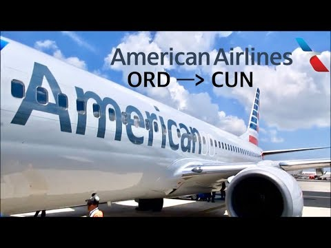 FLIGHT REPORT: American Airlines Boeing 737-800 | Chicago (ORD) To Cancún