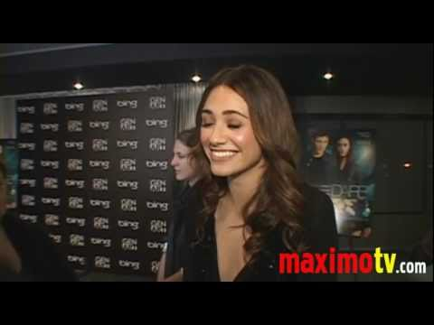 EMMY ROSSUM (Shameless) Interview at DARE Premiere