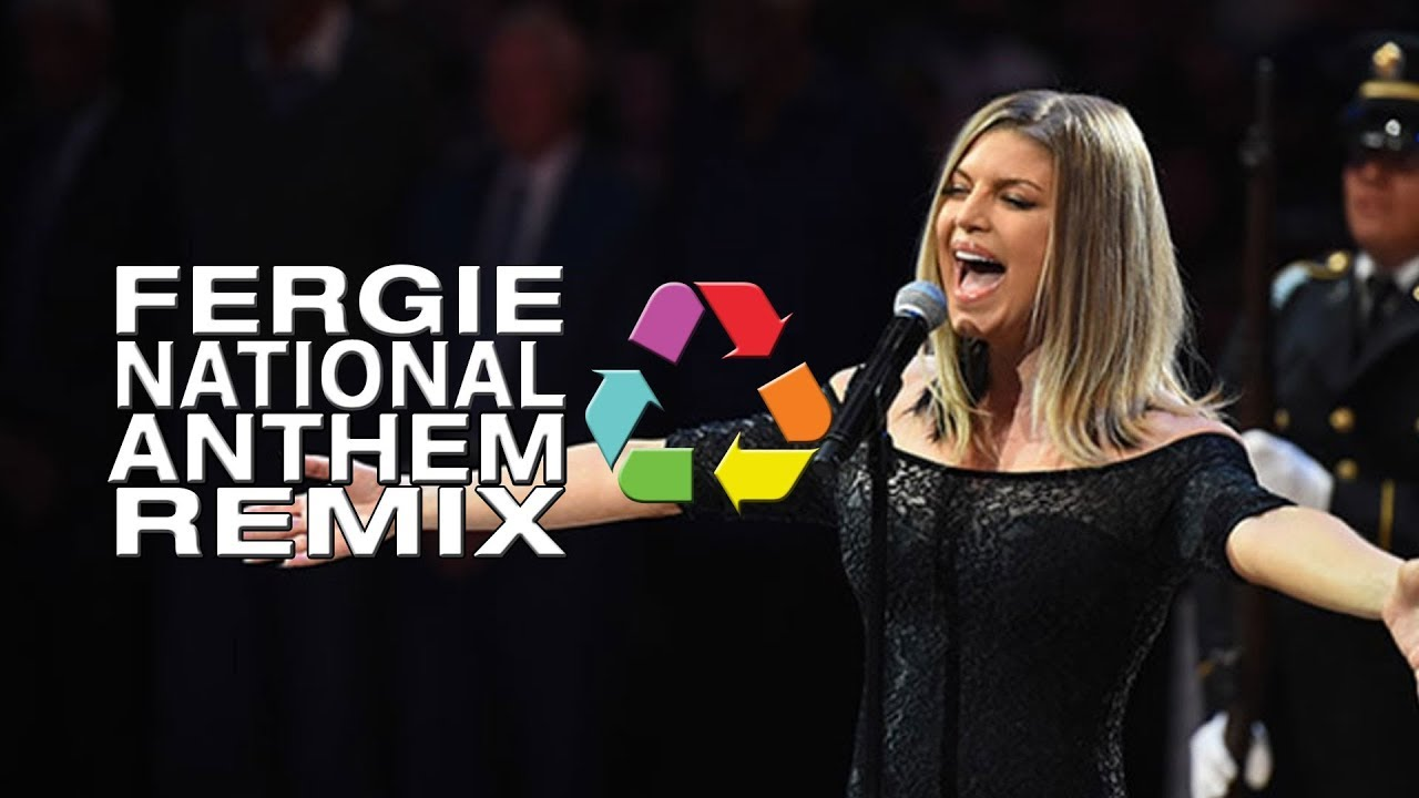 Fergie National Anthem Remix - YouTube Fergie National Anthem Remix