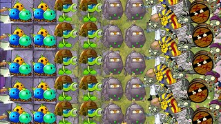 Plants vs Zombies 2 Battlez This Week Strategy - Peashooter and Bowling Bulb on Fire