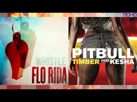 Flo Rida ft. Pitbull - Timber Whistle (Mashup) T10MO