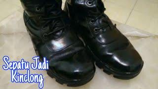 #Tutorial Mengkilapkan Sepatu Kulit || How to shining leather shoes