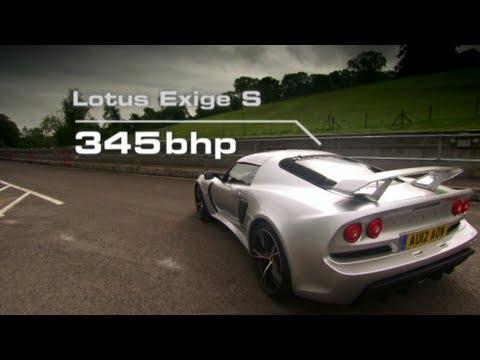 Race-Mode Race in Lotus Exige S vs F1 Driver - Fifth Gear