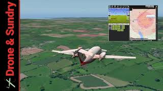 Selex Piaggio P1.HH Hammerhead Arduplane SITL tuning