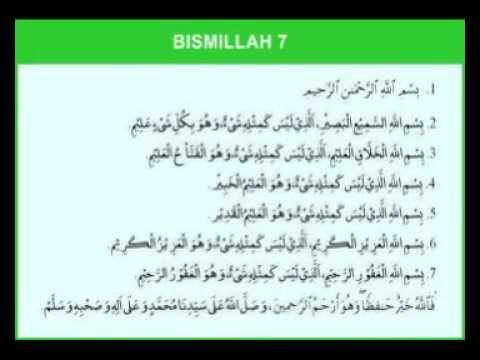 Fadhilat Bismillah 6 Bahagian 03/03