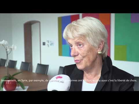 Carla del Ponte au sujet de la liberté de choix dans les régions en guerre.
