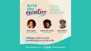 ARTE DOS ENCONTROS: O Processo criativo no isolamento social