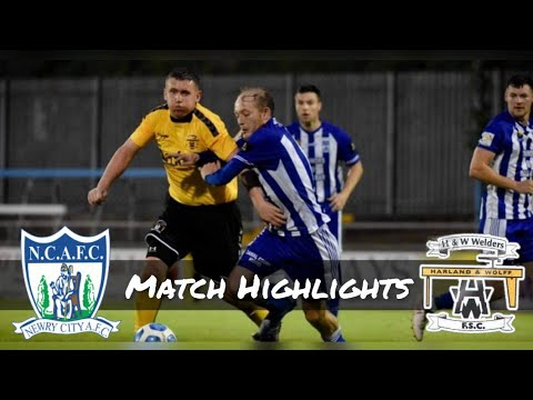 Newry City H&W Welders Goals And Highlights