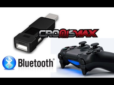 cronusmax bluetooth usando controle de ps4 ou ps3 no xbox one ou xbox360 youtube. Black Bedroom Furniture Sets. Home Design Ideas