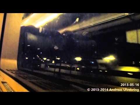 Öresundståget X31/ET Train ride over the Öresund Bridge