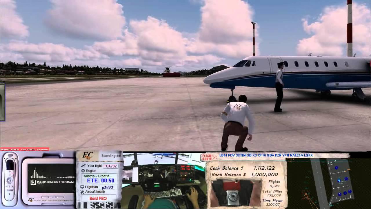 Prepar3D V3 Explore Fly Tampa Corfu Kerkira Airport by foot by  FastCheetah702