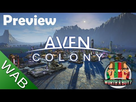 Aven Colony Preview - Colonise a Hostile Planet