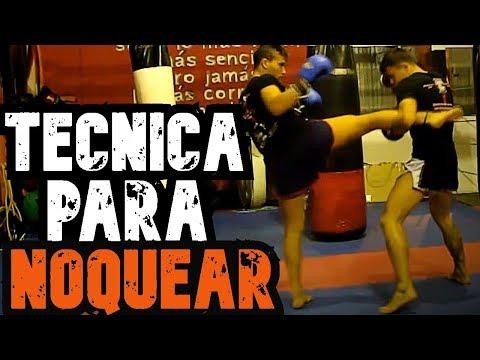 Combinaciones de Muay Thai - Kick Boxing / Golpes PELIGROSOS