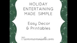 Easy Holiday Entertaining with Price Chopper #HolidayAdvantEdge #ad Thumbnail