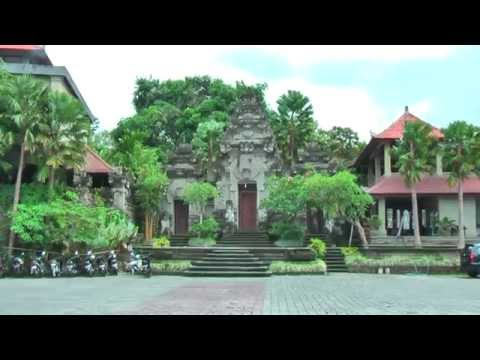 Museum Puri Lukisan in Ubud is the oldest art museum in Bali (Indonesia)