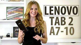 Lenovo TAB 2 A7-10: обзор планшета(Цена и наличие: http://rozetka.com.ua/lenovo_tab_2_a7_10_8gb_black/p2055122/ Видеообзор Lenovo TAB 2 A7-10 Смотреть обзоры других планшетов:..., 2015-07-14T14:06:07.000Z)