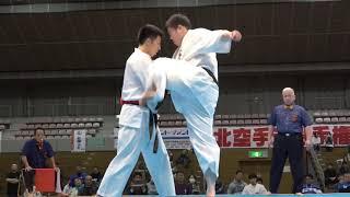 2019年11月3日、福島市国体記念体育館にて開催された第36回東北空手道選...