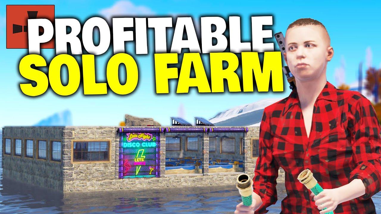 I Spent a Week Building a Solo Hemp Farm for Scrap Profit - Rust