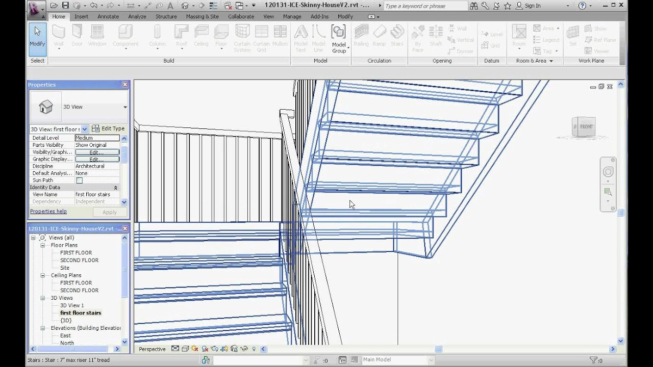 Adding Linear Stairs Part 2 Modifying And Moving Youtube