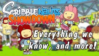 SCRIBBLENAUTS SHOWDOWN: Everything we know about new Scribblenauts Game (old)!