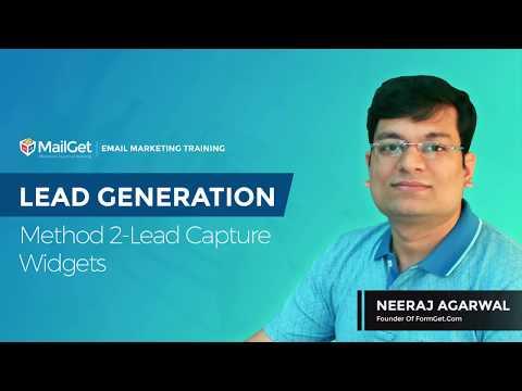 Video-8 Lead Generation Method-2 Lead Capture Widgets
