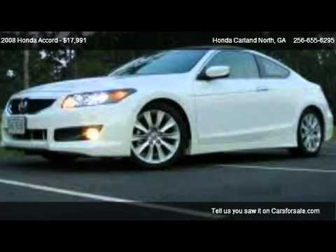 2008 honda accord ex for sale in cartersville ga 30121 youtube. Black Bedroom Furniture Sets. Home Design Ideas