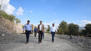 Başkan Eroğlu Çalışma Yerlerinde İnceleme Yaptı