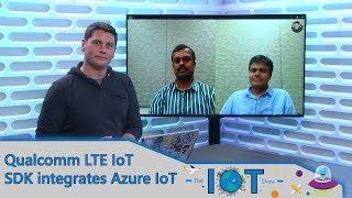 Qualcomm LTE for IoT SDK integrates Azure IoT