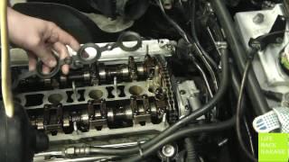 Замена прокладки гидронатяжителя цепи (фазорегулятора) VW Passat B5.