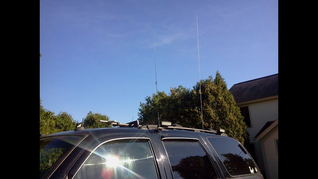 Comet SBB5 NMO Antenna Test & Review
