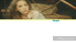 Taeyeon (SNSD) - Atlantis Princess (color coded lyrics - han/rom/eng)