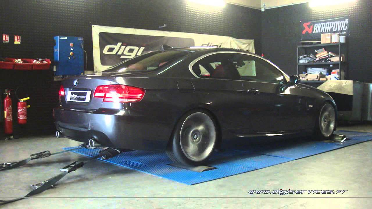 reprogrammation moteur bmw 335d 286cv 337cv digiservices paris 77 dyno youtube. Black Bedroom Furniture Sets. Home Design Ideas