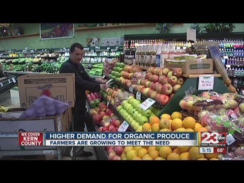 Demand increases for organic produce