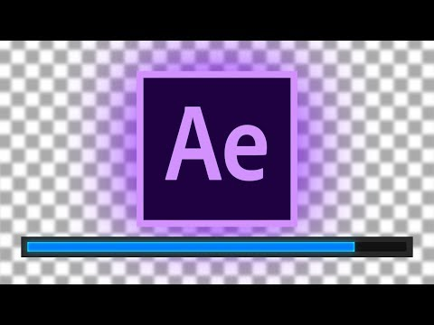 How to Export Transparent Background Videos in Adobe After Effects CC Tutorial