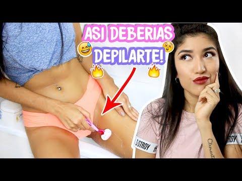 COMO DEPILAR TU ZONA INTIMA?/bikini perfecto/ Trucos y mitos