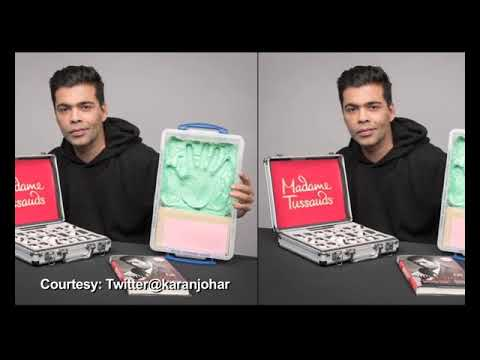 Karan Johar First Indian Filmmaker wax Statue in Madame Tussauds