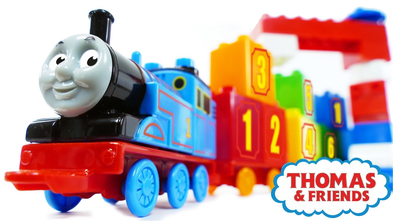 Thomas and Friends 123 Count with Thomas Numbers 1 10