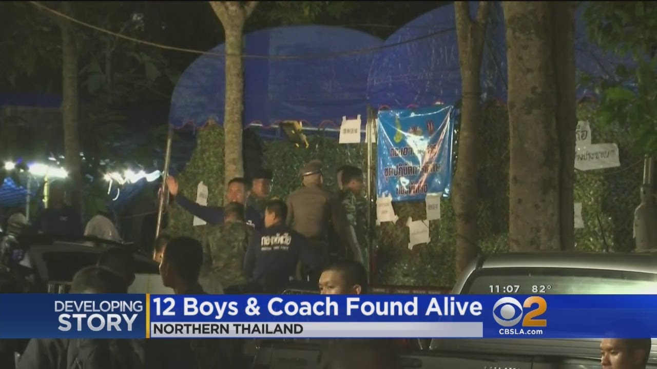 Soccer Team Found Alive In Thailand After Going Missing For 9 Days