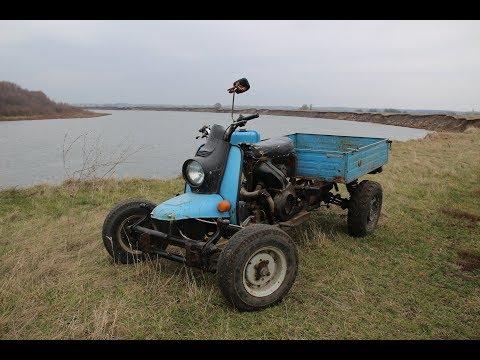 Квадроцикл из Муравья , прогулка по пересечённой местности | Моторага