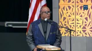 Stevie Wonder At African American Museum Opening
