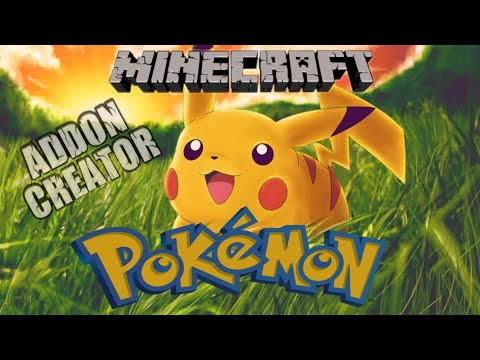 Minecraft Pocket Edition    Add-On POKEMON DAKON Mcpe