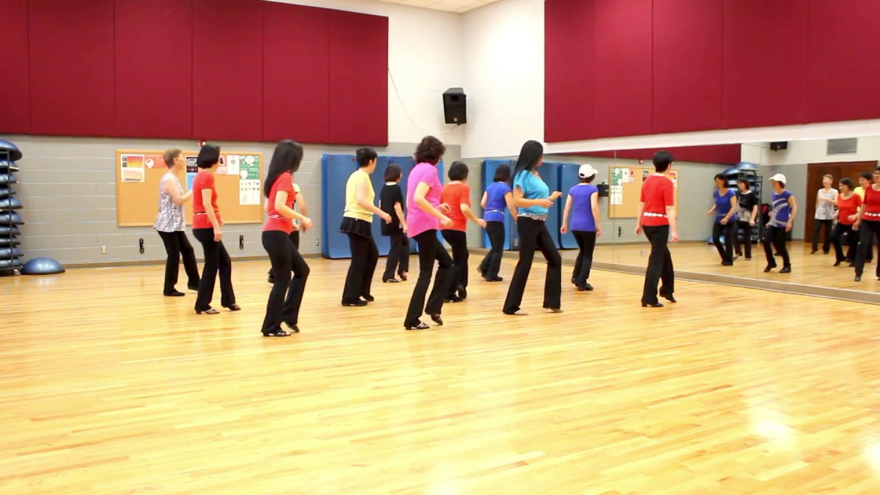 Feel it still line dance dance teach in english