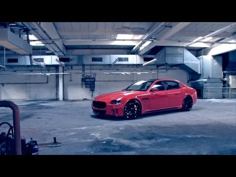 "Maserati Quattroporte on 22"" Vossen VVS-CV1 Concave Wheels / Rims"
