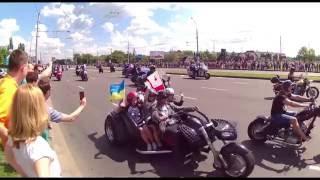 Brest Bike Festival International 2016. Колонна. Брестский байкфестиваль 2016.