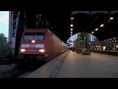 Bahnverkehr (Traffic) Bahnhof Hamburg-Dammtor - ICE, RE, BR 101, S-Bahn - Teil 1