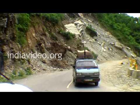 Car ride from Joshimath, Uttarakhand