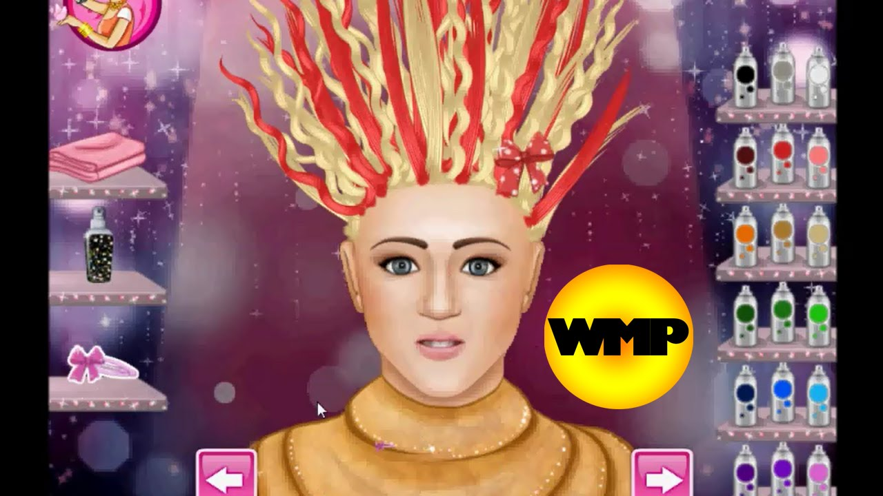 Hilarious Haircut Hannah Montana Haircuts Game Youtube