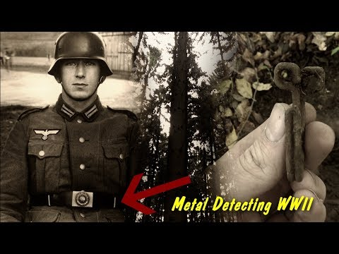 Metal Detecting WW2 - Battle of Aachen Germany - Checking a new spot - Bloody scene in the forest!